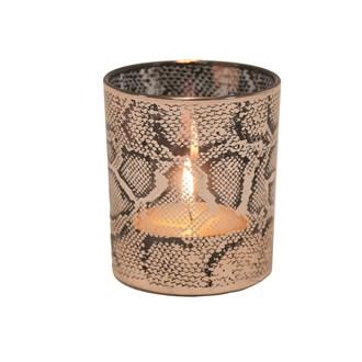 Snakeskin Tealight Holder 10cm
