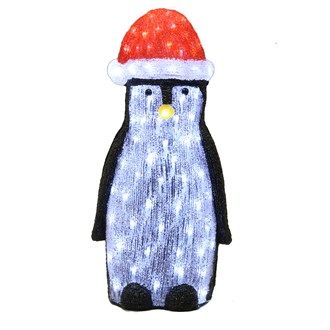 LED Acrylic Penguin 60cm 120L