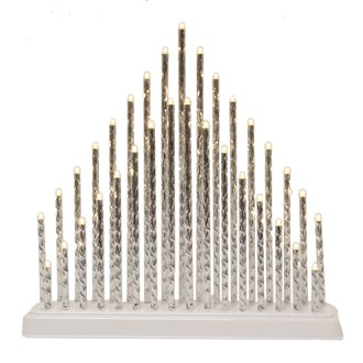 33 LED Candle Bridge 34x32cm