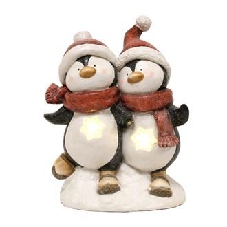 LED Dancing Penguins 38cm
