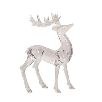 Acrylic Reindeer 18x26cm