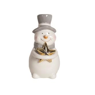 Snowman Figurine 15.5cm