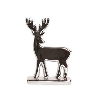 Silver Reindeer 15cm