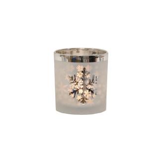 Snowflake Tealight Holder 8cm