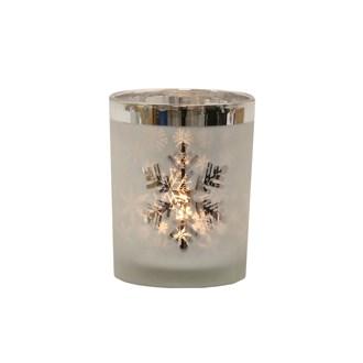 Snowflake Tealight Holder 12.5cm