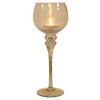 Gold Goblet Candle Holder 35cm