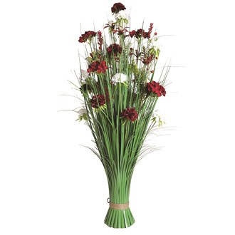 Peony Floral Grass 100cm