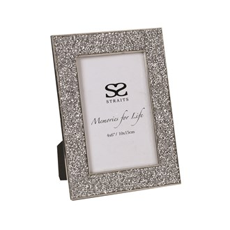 Silver Photo Frame 4x6 (10x15cm)