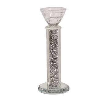 Jewel Crystal Candle Holder 20cm