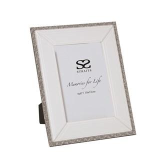 White Jewel Photo Frame 4x6 (10x15cm)
