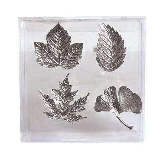 S4 Leaf Napkin Rings