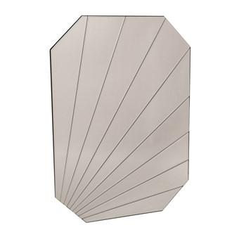 Octagonal Wall Mirror 50x70cm