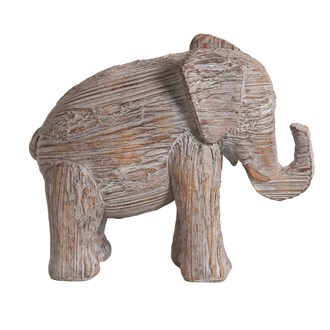 Decorative Resin Elephant 17cm