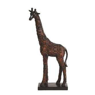 Decorative Resin Giraffe 45cm