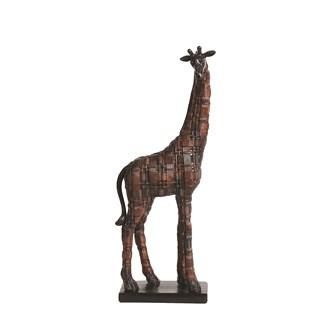 Decorative Resin Giraffe 36.5cm