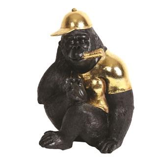 Decorative Resin Gorilla 25cm