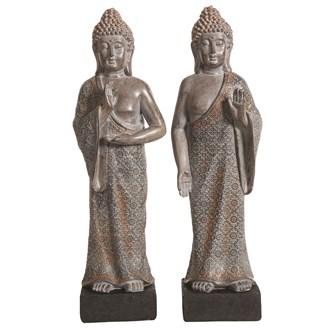 Decorative Resin Standing Buddha 40.5cm