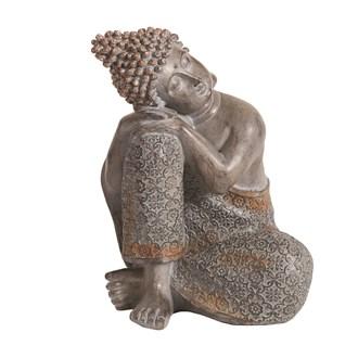 Decorative Resin Resting Buddha 19.5cm