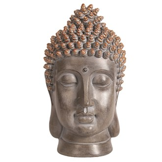 Decorative Resin Buddha Head 26cm