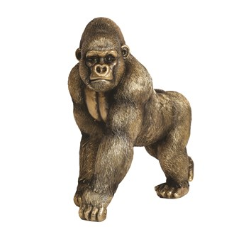 Decorative Resin Gorilla 32cm