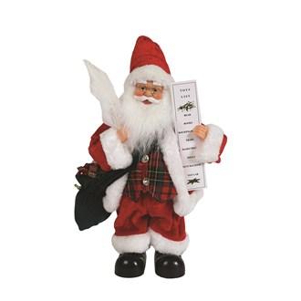 Animated Musical Santa 32.5cm