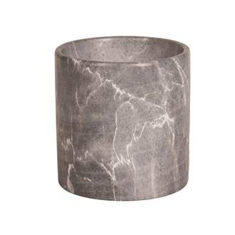 Black Marble Planter 15x15cm