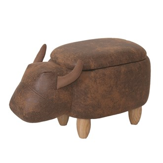 Bull Storage Footstool 59cm