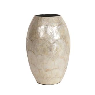 Capiz Vase 30cm