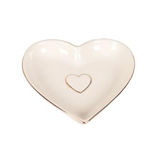 Ceramic Heart Dish 13cm