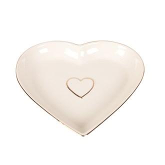 Ceramic Heart Dish 17cm
