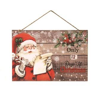 Countdown To Christmas 40x27cm