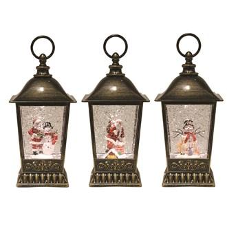 Copper Lantern Spinner 25cm 3 Assorted