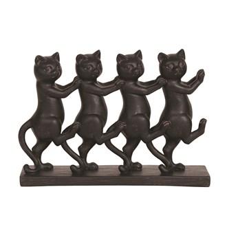 Dancing Cats 17cm