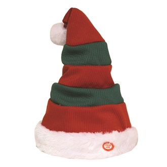 Musical Dancing Christmas Hat 30cm