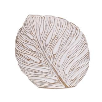Deco Leaf Vase 30cm