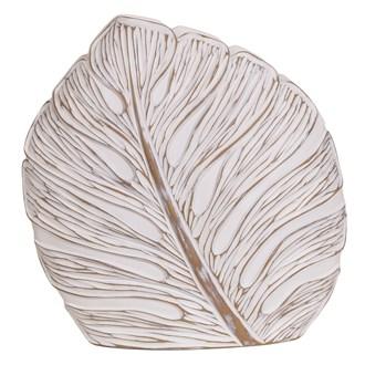 Deco Leaf Vase 42cm