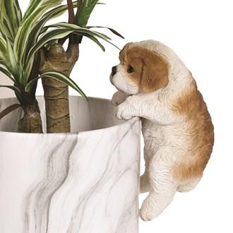 Dog Pot Hanger 20cm
