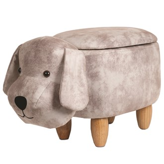 Dog Storage Footstool