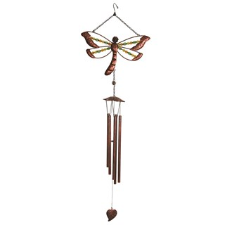 Beaded Dragonfly Windchime 99cm