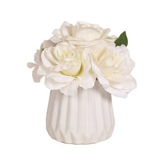 Floral Arrangement White 20cm