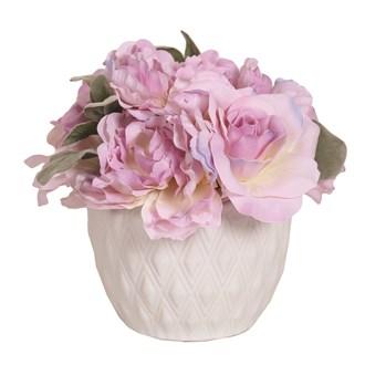 Floral Arrangement Pink 22cm