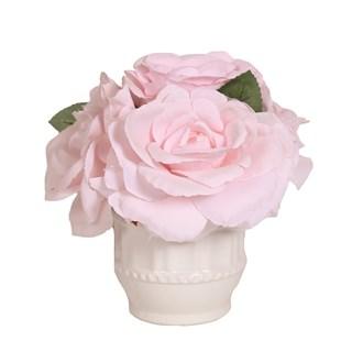 Floral Arrangement Pink 25cm