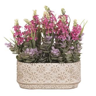 Floral Decorative Arrangement 28cm
