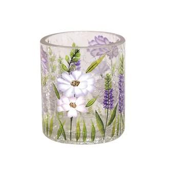 Floral Tea-light Holder 7cm