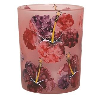 Floral Tealight Holder 12.5cm