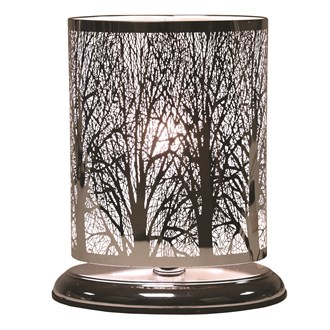 Forest Oval Touch Lamp 27x19cm