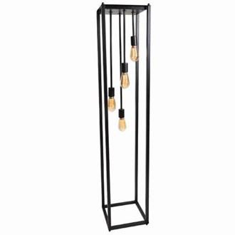 Quad Hanging Filament Floor Lamp 161cm