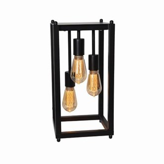 Triple Hanging Filament Table Lamp 45cm