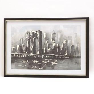 Framed Print Brooklyn 60x90cm