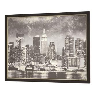 Framed Print New York 90x120cm